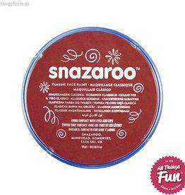 Snazaroo Snazaroo Classic Burgundy 18ml pot