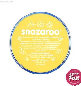 Snazaroo Snazaroo Classic Bright Yellow 18ml pot