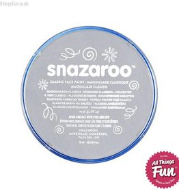 Snazaroo Snazaroo Classic Light Grey 18ml pot