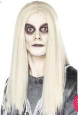 Smiffys Ghost Town Grey Indian Wig