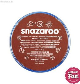Snazaroo Snazaroo Classic Rust Brown 18ml pot