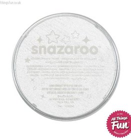 Snazaroo Snazaroo Sparkle White 18ml pot