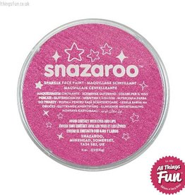 Snazaroo Snazaroo Sparkle Pink 18ml pot