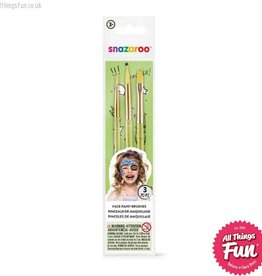 Snazaroo Snazaroo Fun Brush Set 3 Pack