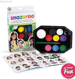 Snazaroo Snazaroo Rainbow Face Painting Kit