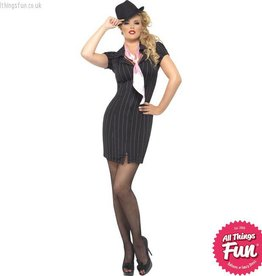 Smiffys Gangster Lady Costume