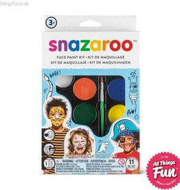 Snazaroo Snazaroo Adventure Face Painting Kit