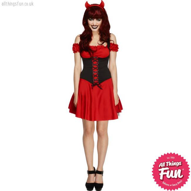 Smiffys Fever Wicked Devil Costume