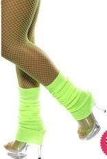 Smiffys Neon Green Legwarmers