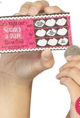 Smiffys *DISC* Hen Night Dare Scratch Cards, 6 Pack