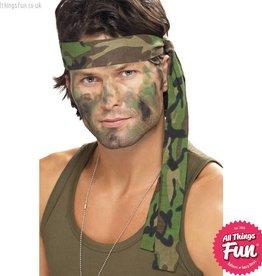 Smiffys Army Camouflage Headband