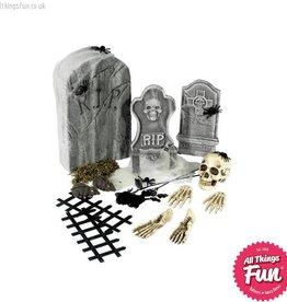 Smiffys *SP* 24 Piece Graveyard Collection