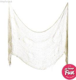 Smiffys *SP* Cream Creepy Cloth 75cm x 300cm