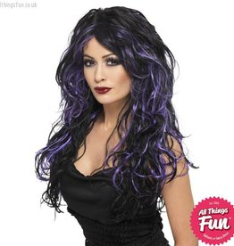 Smiffys *SP* Gothic Purple Bride Wig