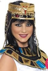 Smiffys Gold Egyptian Headpiece with Snake Design