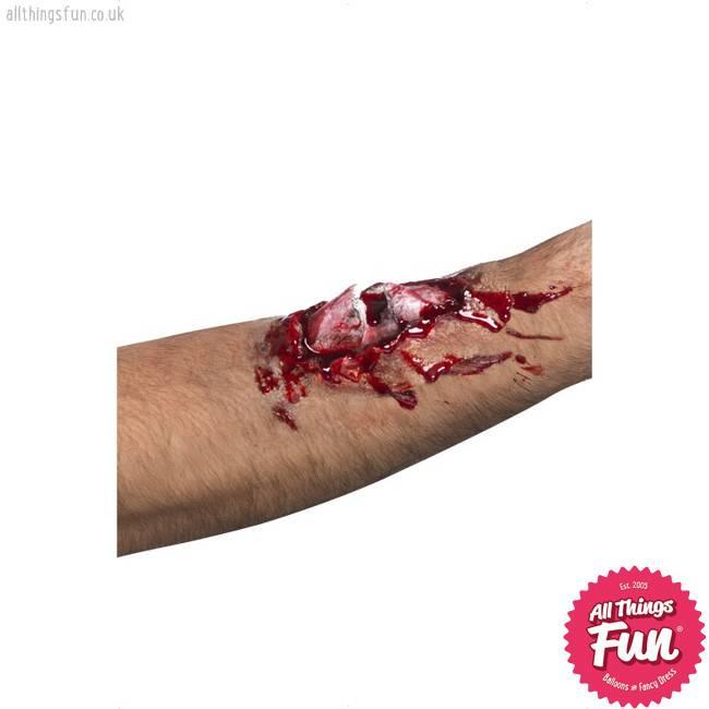 Smiffys *SP* Latex Broken Bone Scar with Glue