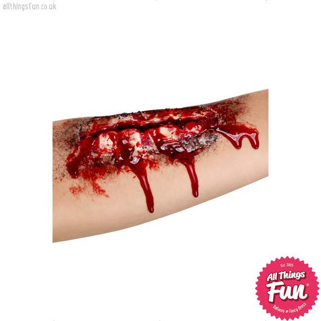 Smiffys *SP* Latex Open Wound Scar with Glue