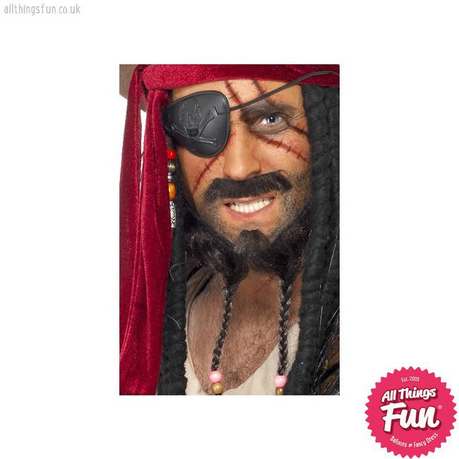 Smiffys *DISC* Pirate Make Up Kit
