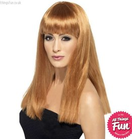 Smiffys Auburn Glamourama Wig