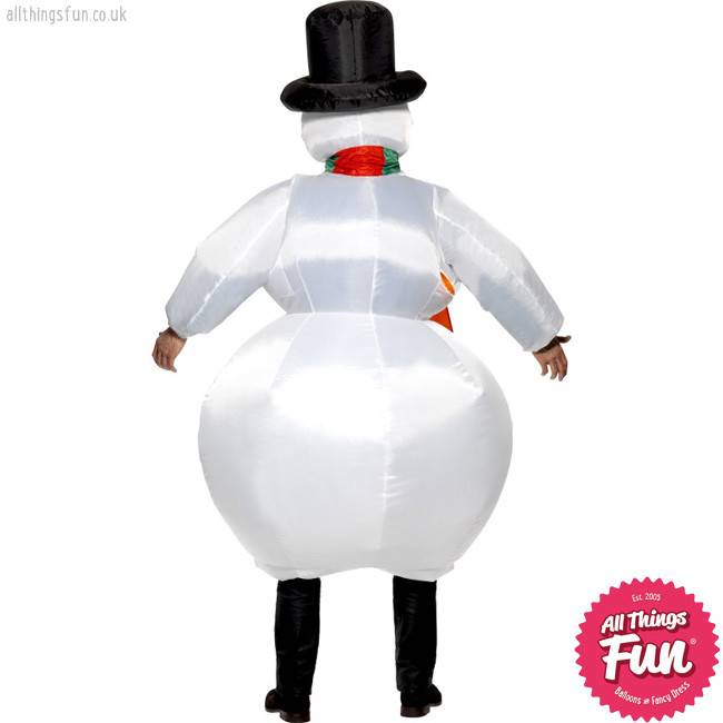 Smiffys Inflatable Snowman Costume