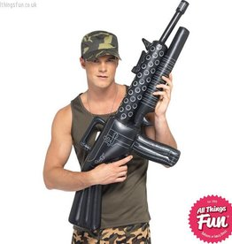 Smiffys Inflatable Machine Gun