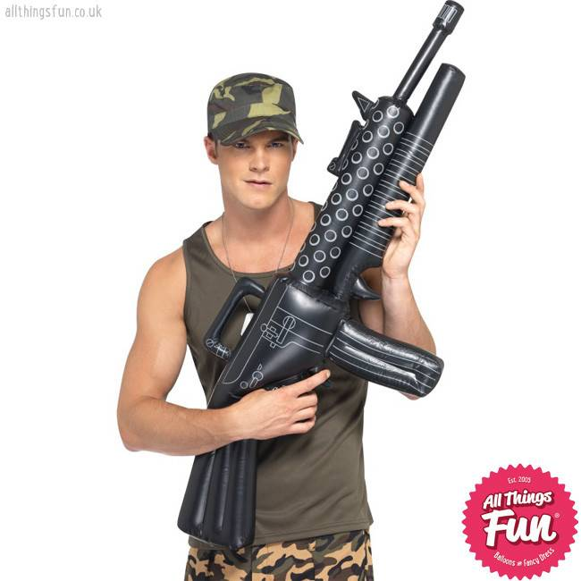 Smiffys Inflatable Machine Gun