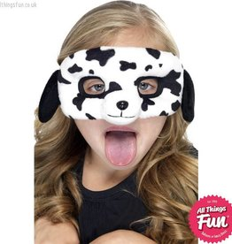Smiffys *DISC* Child Plush Eyemask, Dalmatian