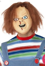 Smiffys *SP* Chucky Latex Overhead Mask with Hair