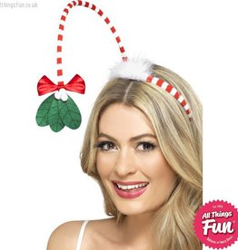Smiffys Mistletoe Kisses Headband