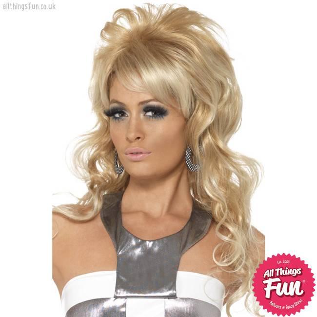 Smiffys 60's Blonde Beauty Queen Wig