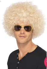 Smiffys 70's Blonde Funky Afro Wig