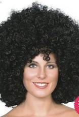 Smiffys Black Mega Huge Afro Wig