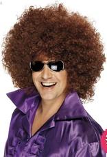 Smiffys Brown Mega Huge Afro Wig