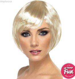 Smiffys Blonde Babe Wig