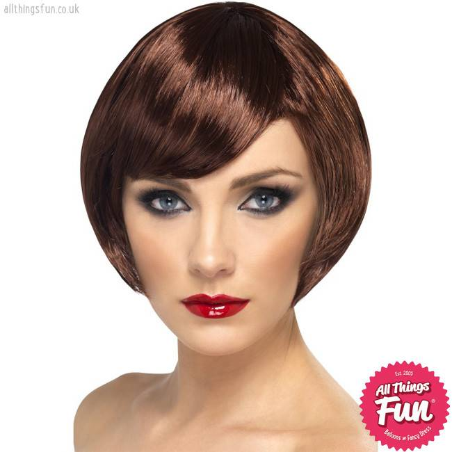 Smiffys Brown Babe Wig