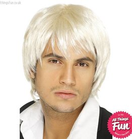 Smiffys Blonde Boy Band Wig