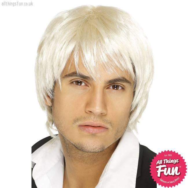 Smiffys Blonde Boy Band Wig