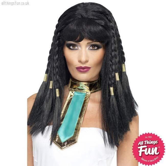 Smiffys Black Cleopatra Wig