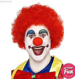 Smiffys Red Crazy Clown Wig