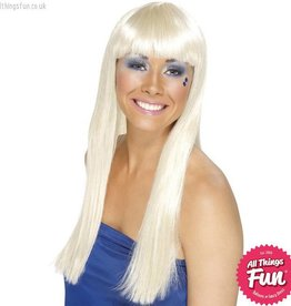 Smiffys Blonde Dancing Queen Wig