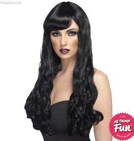 Smiffys Black Desire Wig