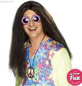 Smiffys Brown Hippy Wig