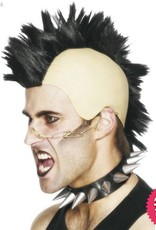 Smiffys Black Mohican Wig