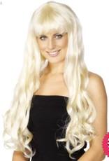 Smiffys *DISC* Blonde Paris Wig