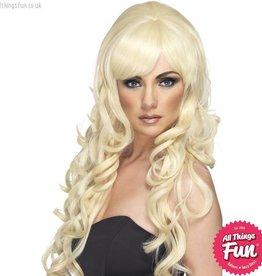 Smiffys Blonde Pop Starlet Wig