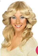 Smiffys Blonde 70's Flick Wig