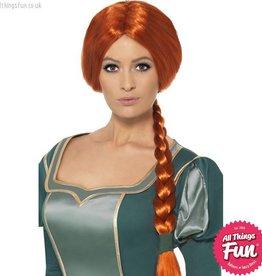 Smiffys Shrek Princess Fiona Wig