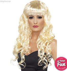 Smiffys Blonde Siren Wig