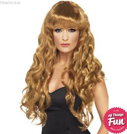 Smiffys Brown Siren Wig