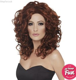 Smiffys Auburn Fantasy Wig